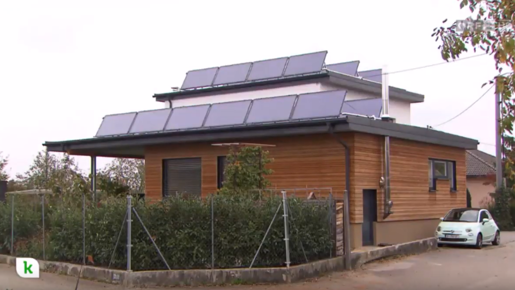 One of Austria's 200 solar homes