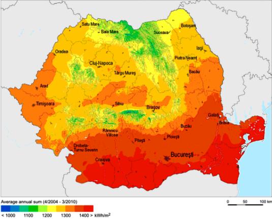 Romania Irradiation