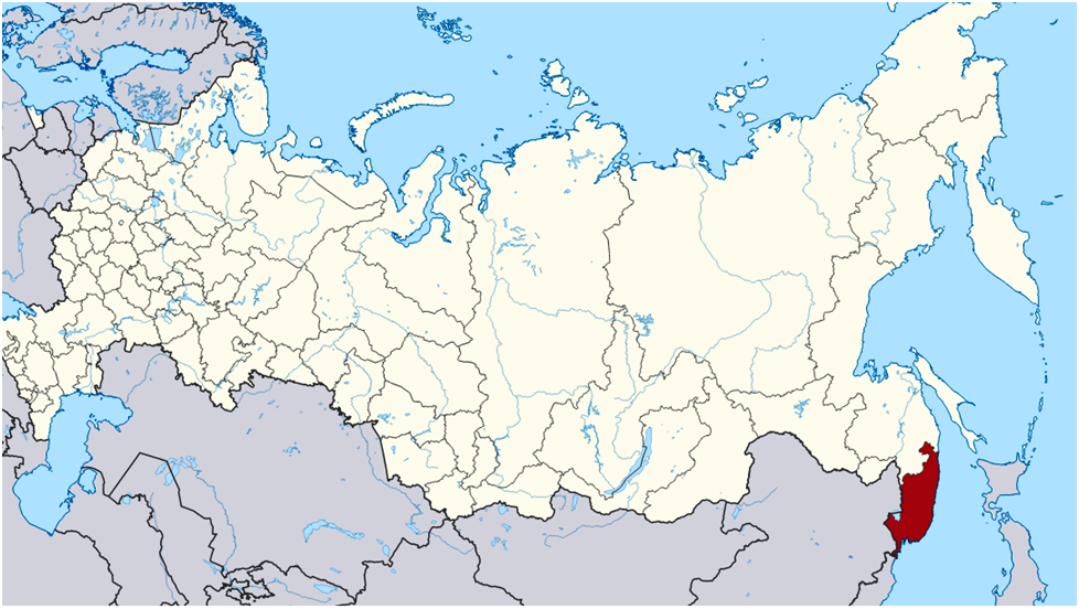 Primorje Region in the far east of Russia