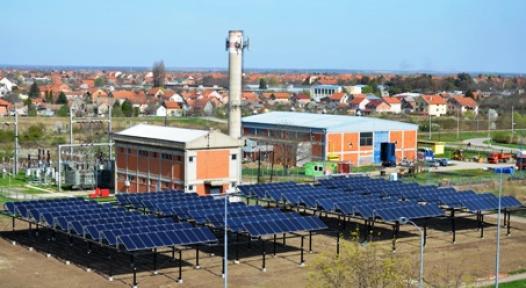 Serbia: EU Supports 903 m² Solar District Heating Installation