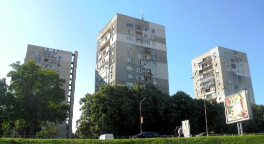 Bulgaria multi-family blocks