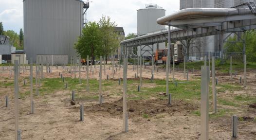 Germany: Construction Starts on 2,230 m2 Solar Field in Chemnitz