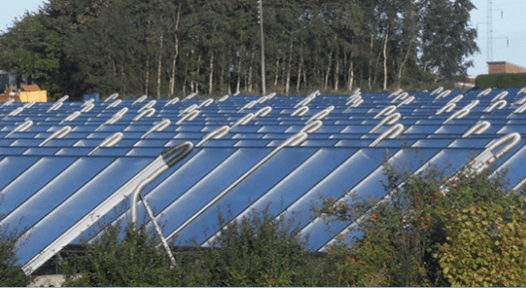 Solar Covers 55 % of Heat Demand of 1,500 Households