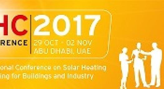SHC 2017 and Solar World Congress