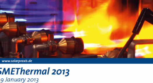 SMEThermal 2013 – Innovations in Manufacturing, Product Design and Machinery: Call for Papers
