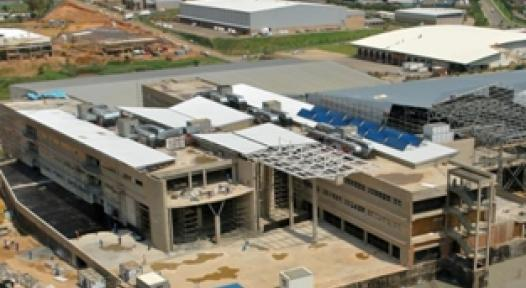 South Africa: 140 m² of Collector Area on ABB Building in Johannesburg