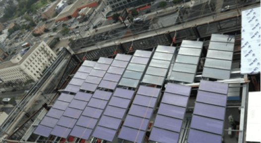 USA: Solar Hot Water System on Newest High-Rise in San Diego Central