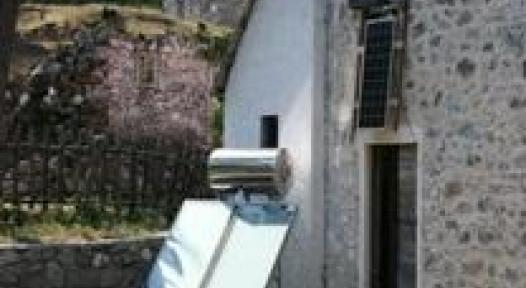 Albania: Solar Water Heaters in Albanian Alp Guesthouses