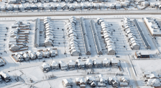 Canada: District Heating with 90 % Solar Fraction