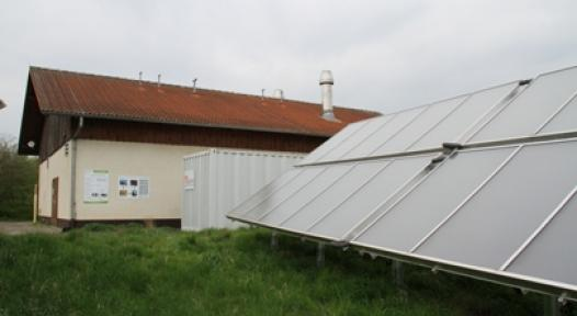Germany: Solar-Heated Gas Pressure Regulating System with 7 % Benefit