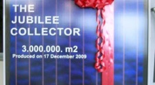 Turkey: Ezinc Celebrates a Total of 3,000,000 m2 of Produced Collector Area