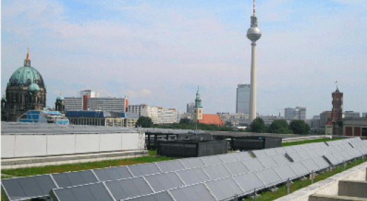 German Ministry of Foreign Affairs with New 203 m² Air Collector System
