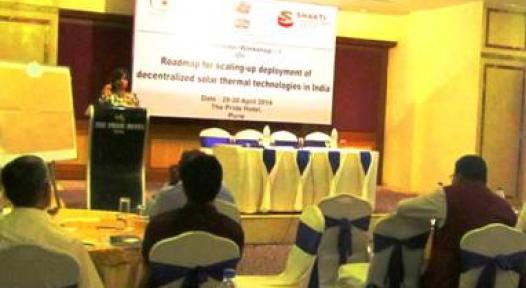 India: First Stakeholder Workshop for Solar Thermal Roadmap