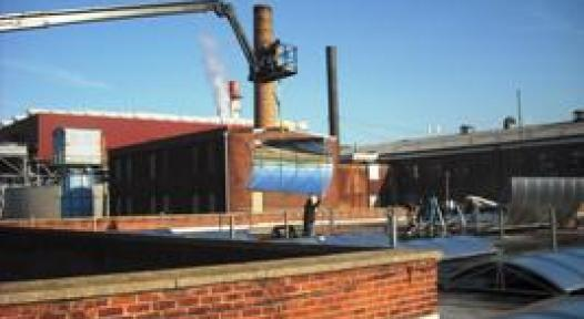 Steam and Cooling: no Problem for a Solar Thermal System
