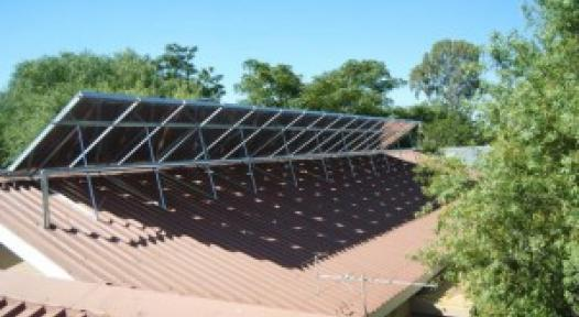 SOLTRAIN: Free Solar Heating Systems for Social Institutions