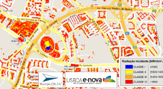 Portugal: 28% of Lisbon Buildings with Perfect Solar Thermal Energy Conditions