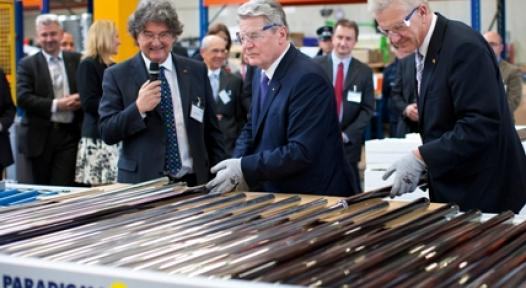 Germany: President Gauck Visits Ritter Group