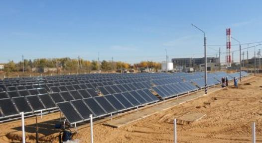 Russia: Astrakhan's Solar District Heating Plant