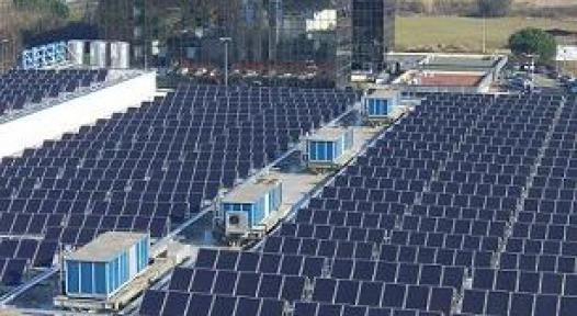 Solar Cooling System for Metro Cash & Carry in Italy
