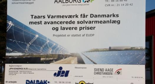 Denmark: Combined CSP and Flat Plate Collector System Supplies Solar District Heating