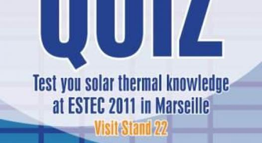 Test your Knowledge and Win Prizes with the Solarthermalworld.org Quiz at ESTEC 2011