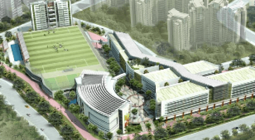 Singapore: 2.7 MW Cool College with 2,900 pupils