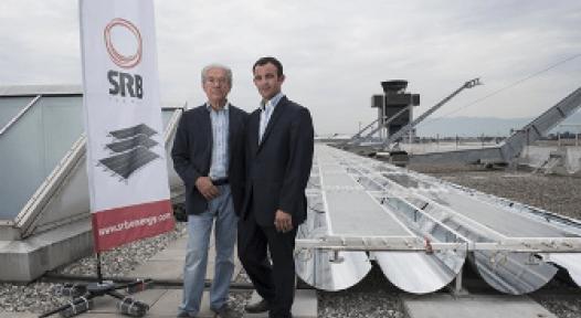 Switzerland: Ultra-High Vacuum Collectors Heat and Cool Geneva Airport