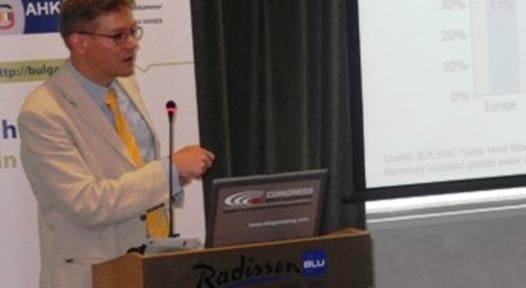 Bulgaria: Experts Discuss Solar Thermal at Renewable Energies in Buildings Conference