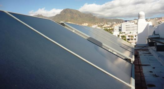 ESCO solar heat projects in Spain