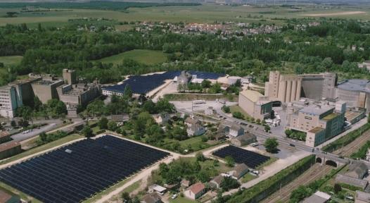 10 MW solar plant heats air for malting plant in France