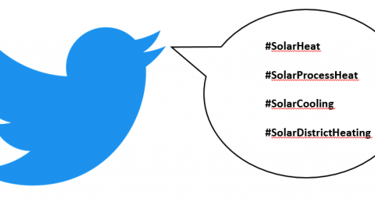 #SolarHeat: the main Twitter hashtag