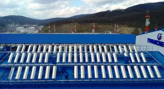 New parabolic trough demonstration plant at Transneft in Russia