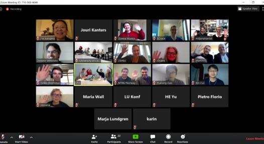Lessons learned from first IEA SHC online meetings