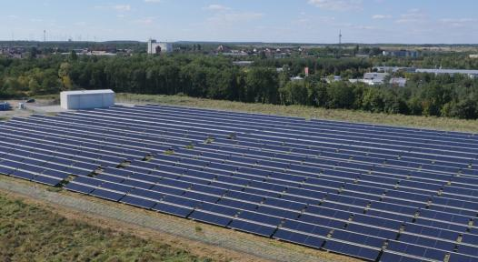 Solar district heating for 3,000 households in the German town of Senftenberg