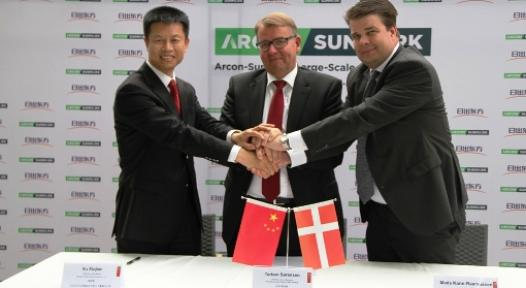 Sunrain Arcon Joint Venture