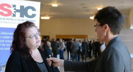 Embedded thumbnail for Sabine Putz at SHC 2015: Large Scale Solar Thermal Systems