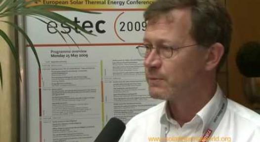 Embedded thumbnail for Jan Erik Nielsen about Solar Keymark in ESTEC 2009