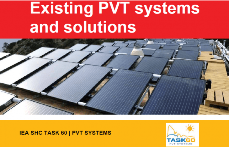 Fact sheets show 30 operational PV-thermal systems