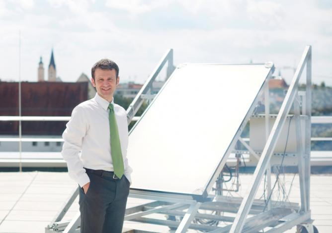"""""""Solar process heat is a hot topic in research and development"""""""