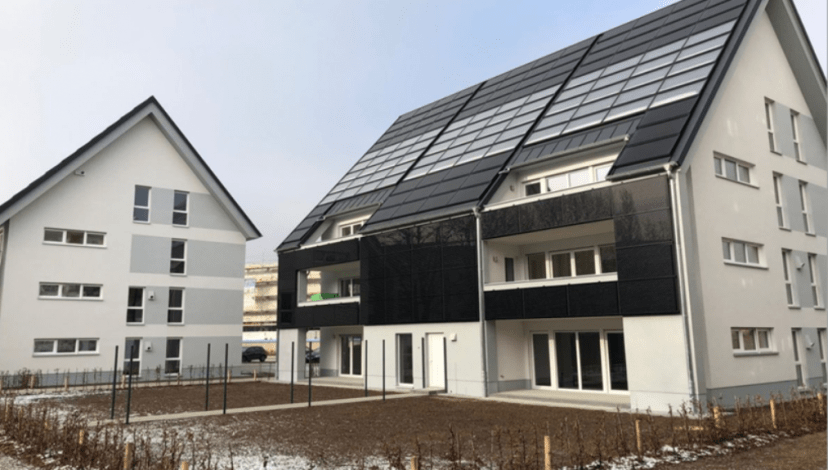 Solar-heated multi-family buildings gain popularity in Germany