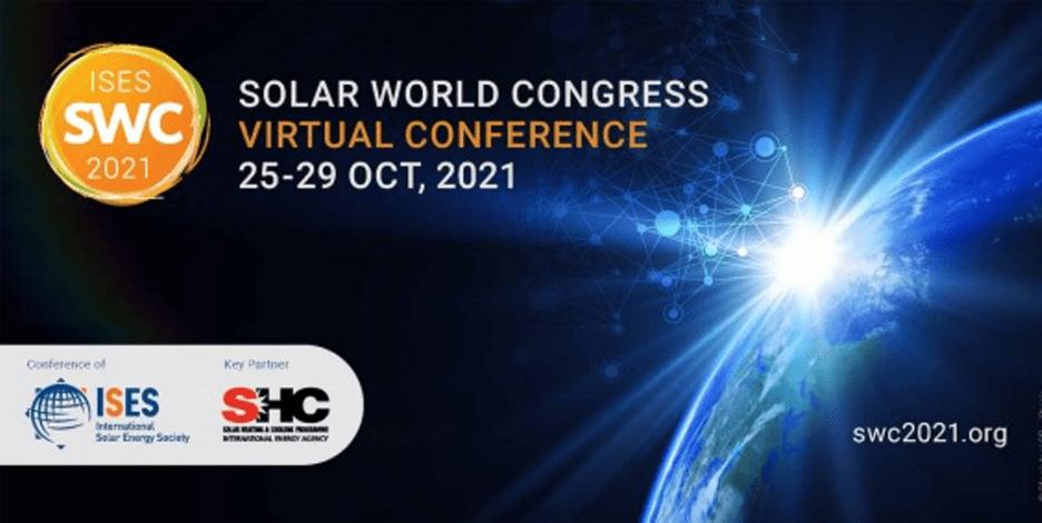 ISES and IEA SHC partner up to host Solar World Congress 2021