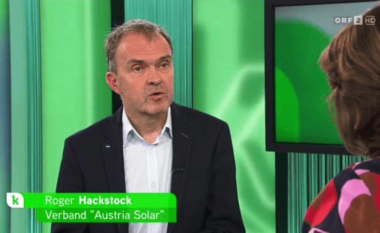 Solar-heated homes promoted on Austrian TV