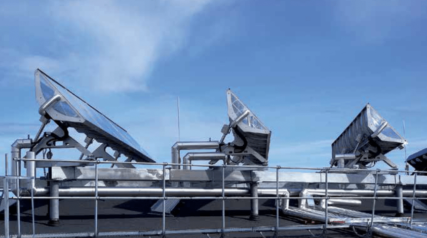 """""""Solar thermal cooling reduces the strain on the power grid"""""""