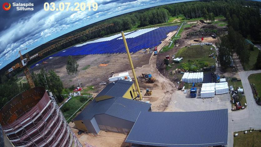 SDH system under construction in Latvia, soon in Tibet