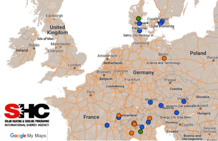 New at IEA SHC: Solar neighbourhood planning