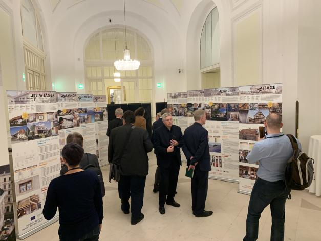 touring exhibition of retrofited historic buildings