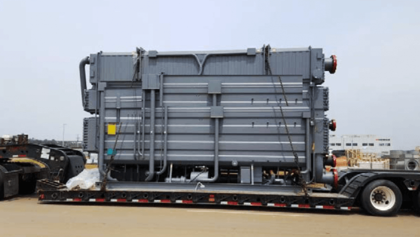 Triple-absorption chiller by Chinese Broad Group