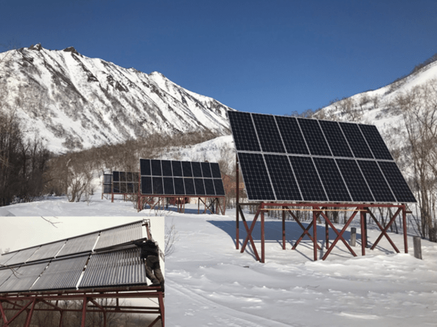 Solar hybrid system heats hostel in Russia's far east