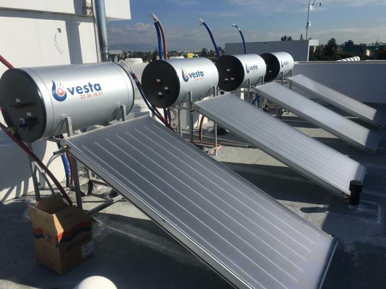 Photo: Vesta Solar Heater